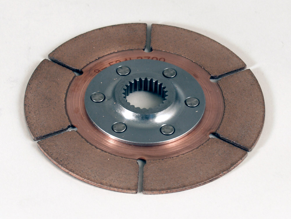 "5.5"" 1-plate metallic clutch disc - A-Style Hub"