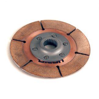 "5.5"" 1-plate metallic clutch disc - F-Style Hub"
