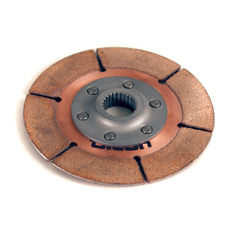 "5.5"" 1-plate metallic clutch disc - F-Style Hub"