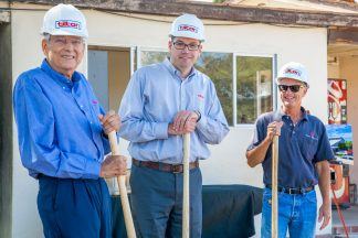 Groundbreaking Ceremony - Mac, Jason & Dan