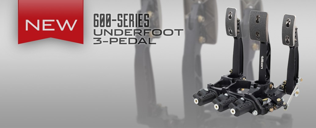600-Series 3-Pedal Underfoot