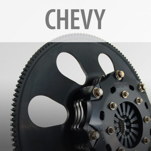 Chevy Clutch-Flywheel Assemblies
