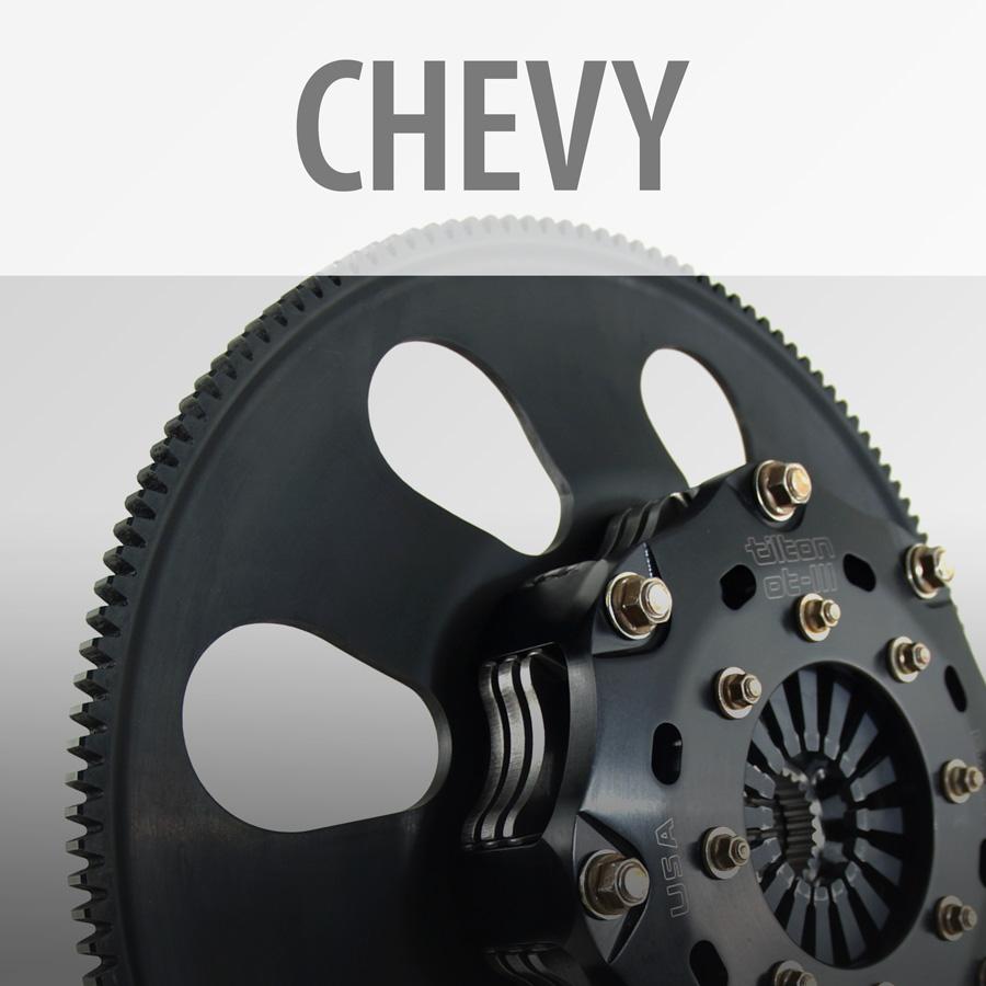 Chevy Clutch-Flywheel Assemblies